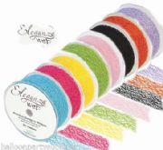 38mm x 20M Organza Eleganza Web Ribbon 17 Colours Available